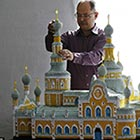 Origami Models of Famous Moscow Cathedrals