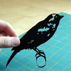 Paper-cut Animals & Birds Silhouettes