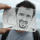 Pencil vs Camera is a creative series of pencil sketches seamlessly matches with real life settings by artist Ben Heine. Belgian artist Ben Heine blurs the line between art...