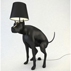 Good Boy & Good Puppy Pooping Dog Lamps