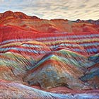 Incredible Rainbow Mountains in China