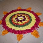 Rangoli is an ancient cultural tradition and folk art from India. Women of the house in India, especially in the Southern part of India, draw rangoli early in the...