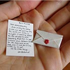 World's Smallest Postal Service is run by Lea Redmond in San Francisco since 2008. She has been creating tiny mailable, wedding invitations and announcements for customers all over the...