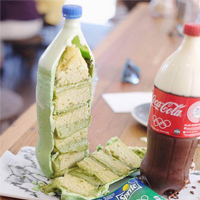 Amazing Cakes That Look Exactly Like Soft Drink Bottles