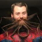 IT Administrator Grows Spider-Shaped Beard