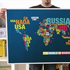 German designer Dirk Schachter created amazing world maps using Helvetica Neue font. Carefully positioned each letter giving a completely new and mind-blowing look to the world maps we have...