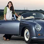 Megan Ashton always dreamd of being taken away to her wedding in a classic Porsche 356 and to make her dream come true she spent six years converting an...