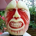Watermelon Carvings By Self-Taught Artist Clive Cooper