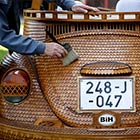 Volkswagen Beetle Made Out of 50,000 Pieces of Wood