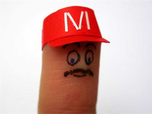 Funny Fingers Drawing
