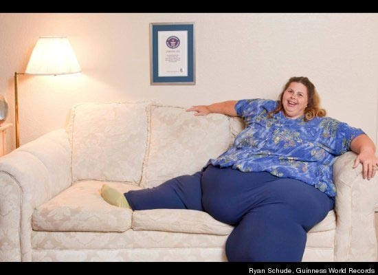 Worlds Heaviest Woman Pauline Potter