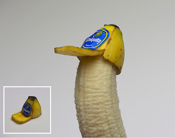 Banana Trucker Hat by Brock Davis