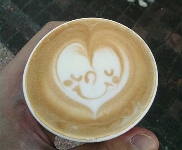 Coffee Heart Design