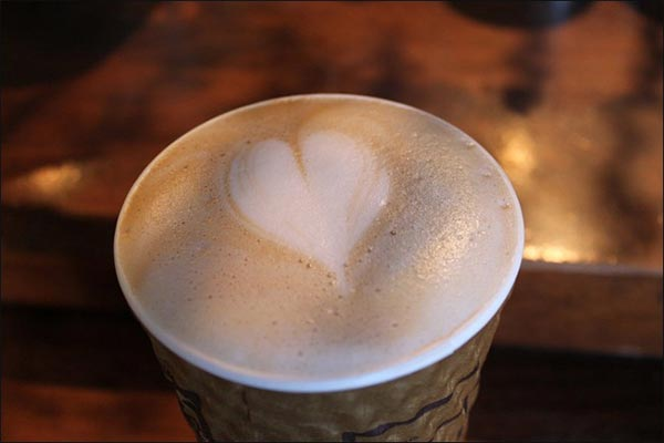 Heart Shapes on Coffee