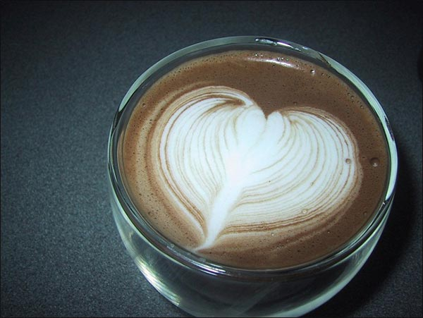 Heart Design on Coffee