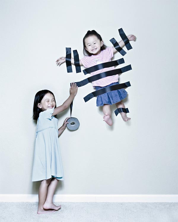 Creative photos taken by father Jason Lee