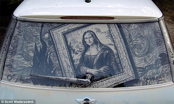 Dirty Car Painting