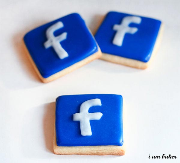 Facebook/Twitter Cookies by I am Baker