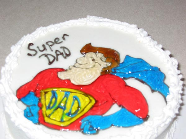 Father's Day Cake Design