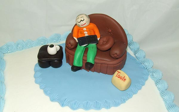 Father's Day Laptop / Sofa Cake