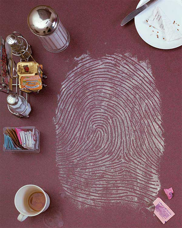 Fingerprints Recreated Using Different Objects