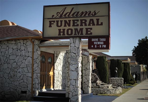 Drive-Through Funeral Parlor