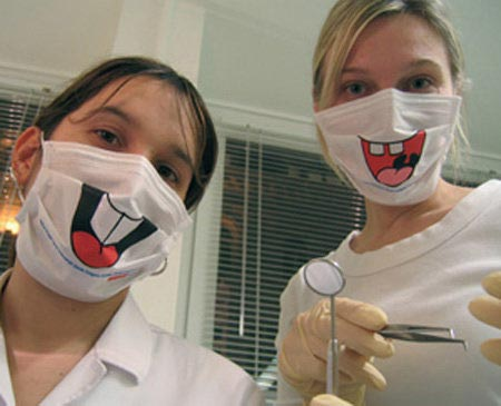 Funny Dentists' Masks