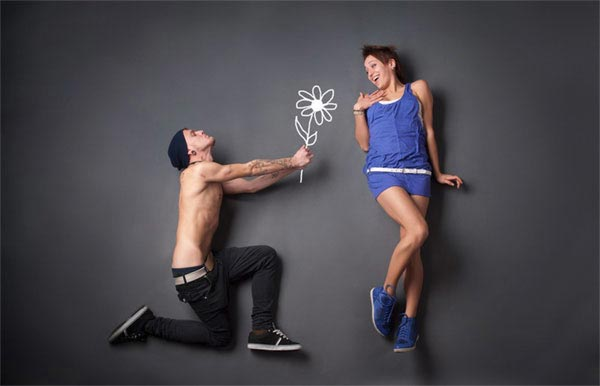 Funny Yet Creative Conceptual Love Story Photography