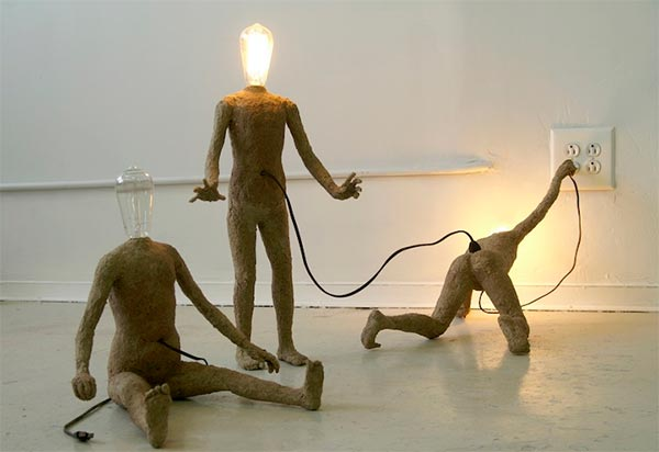 Light Bulb People Artworks