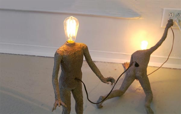 Light-bulb People