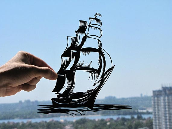 Dream Papercut by Dmytro and Iuliia
