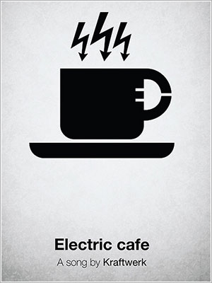 Pictogram Music Poster