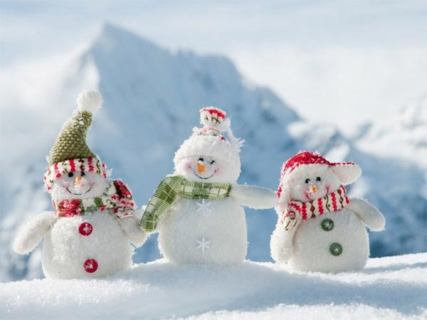 Snowman Inspiration Photography
