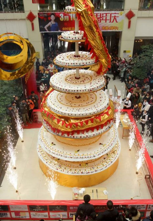 World's Tallest Cake