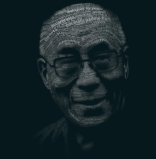 Typographic Illustration / Portrait