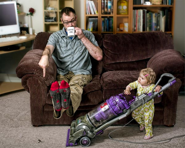 World's Best Father Photo Series