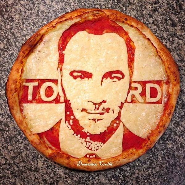 Tom Ford Pizza Portrait