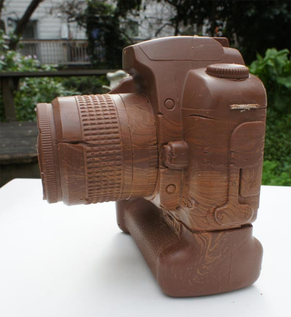 Canon Camera Made of Chocolate