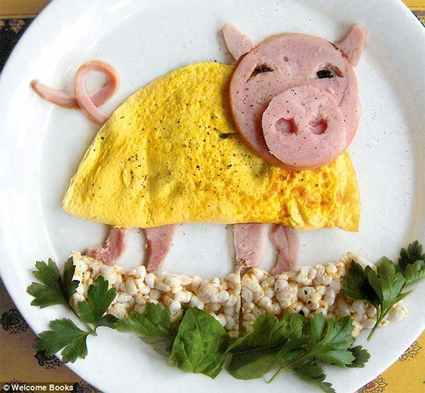 Funny Food Art by Bill & Claire
