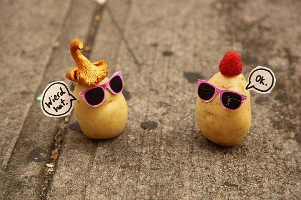 Funny Potato Artwork