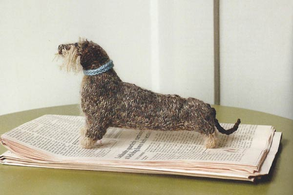 Knitted Dog by Sally Muir & Joanna Osborne