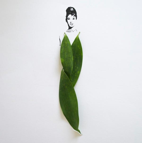 Creative Leaf Art