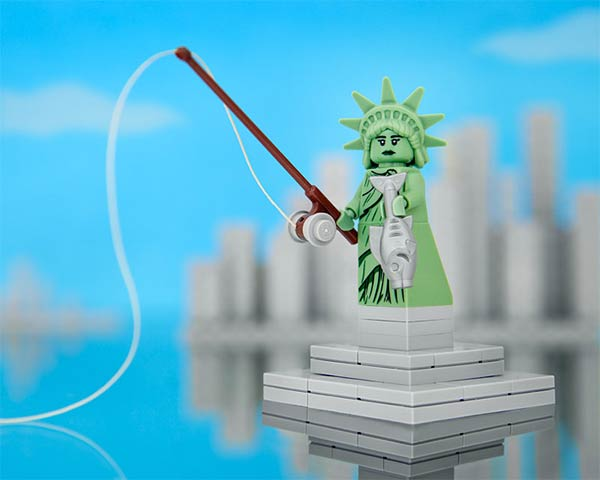 50 States of Lego by Jeff Friesen