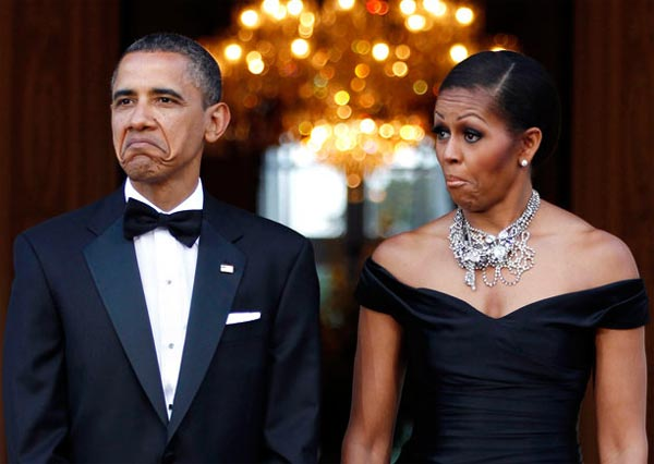 Obama & Michelle Reaction
