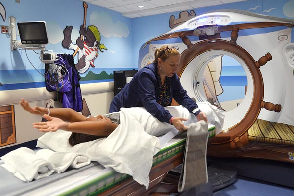 Sailor-Themed CT Scanner For Kids