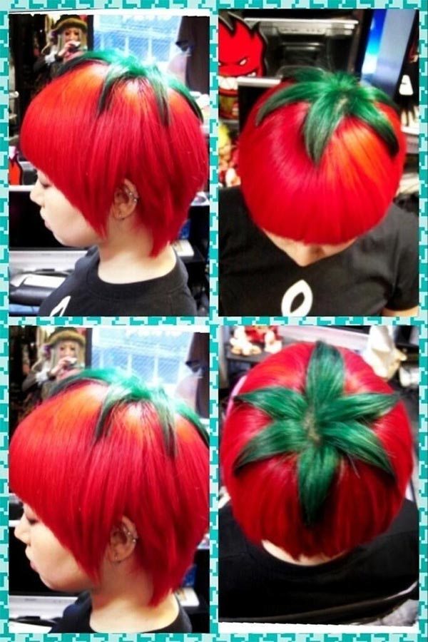 Ripe Tomato Hairstyle by Hiro