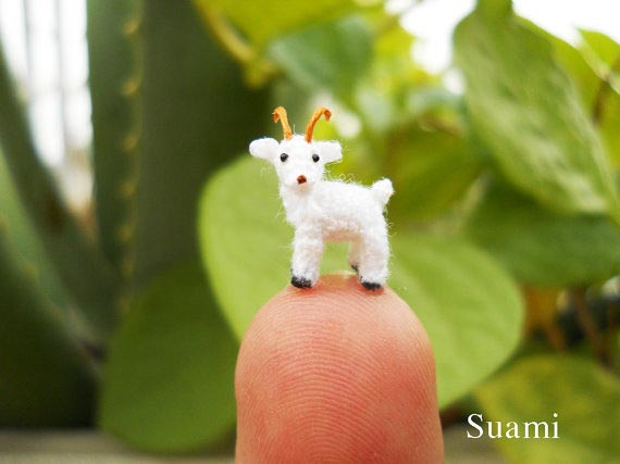Suami - Miniature Crochet Toy Animals