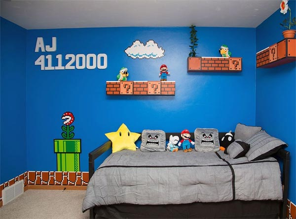 Bedroom Inspired by Super Mario