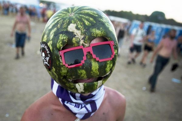 Watermelon Mask