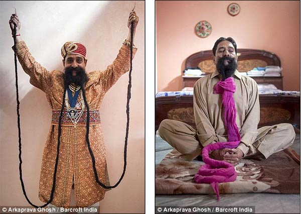 Meet Ram Singh: The Man with World's Largest Mustache